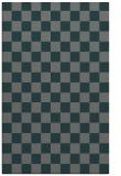 rug #220937 |  blue-green check rug