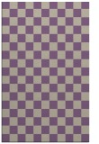 rug #220989 |  purple check rug