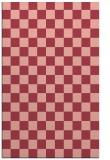 rug #221025 |  pink check rug