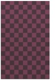 rug #221033 |  purple check rug