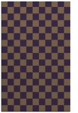 rug #221041 |  purple check rug