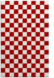 rug #221049 |  red graphic rug