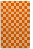 rug #221069 |  red-orange check rug