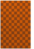 rug #221073 |  red-orange check rug