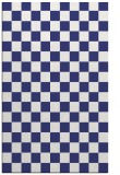 rug #221089 |  blue check rug