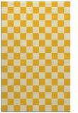 rug #221097 |  yellow check rug