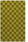 rug #221129 |  light-green check rug