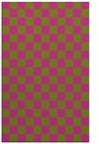 rug #221137 |  light-green check rug
