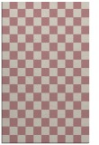 rug #221149 |  pink retro rug