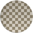 rug #221163 | round check rug
