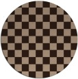 rug #221175 | round check rug