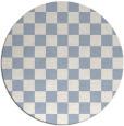 rug #221203   round check rug
