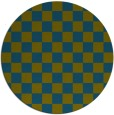 rug #221221 | round blue-green graphic rug