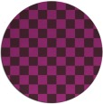 rug #221228   round check rug