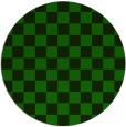 rug #221229 | round green graphic rug