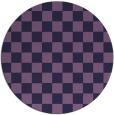rug #221257 | round purple retro rug