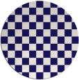rug #221267 | round check rug