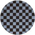 rug #221275   round check rug