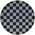 rug #221276 | round check rug