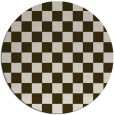 rug #221315 | round check rug