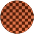rug #221362 | round retro rug