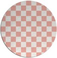 rug #221382   round check rug