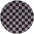 rug #221397 | round purple graphic rug