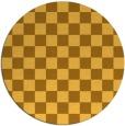 rug #221466   round check rug
