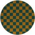 rug #221468 | round check rug