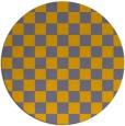 rug #221476 | round check rug