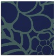 rug #221897 | square blue graphic rug