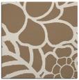 rug #222017 | square mid-brown rug