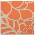rug #222061 | square orange graphic rug