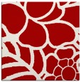 rug #222105 | square red graphic rug