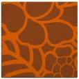 rug #222129 | square red-orange natural rug