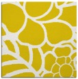 rug #222165 | square yellow graphic rug