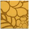rug #222169 | square yellow natural rug