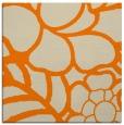 rug #222181   square orange graphic rug