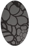 rug #222368 | oval graphic rug
