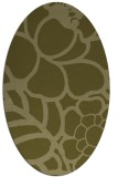 rug #222549 | oval light-green rug