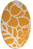 rug #222565 | oval white rug