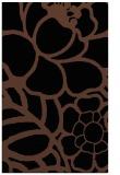 rug #222585 |  black natural rug