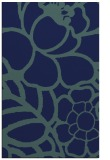 rug #222601 |  blue graphic rug