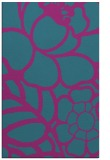 rug #222633    blue-green graphic rug