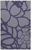 rug #222657 |  blue-violet graphic rug