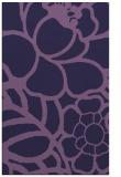 rug #222665 |  blue-violet popular rug