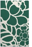 rug #222701 |  green graphic rug