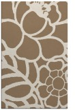 rug #222721 |  mid-brown graphic rug