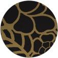 rug #222941 | round black natural rug
