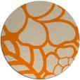 rug #223237 | round beige natural rug